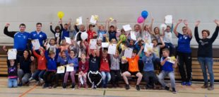 37 Kinder vom Handball begeistert