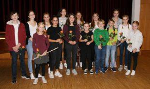 Musikschüler erfreuten mit ihren Fortschritten