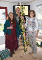 Maltherapeutin Simone Bischoff eröffnete im Buchenfeld ihr Atelier »Wildblume«