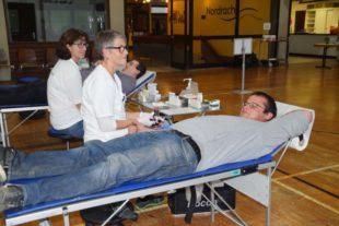 124 Blutkonserven gewonnen
