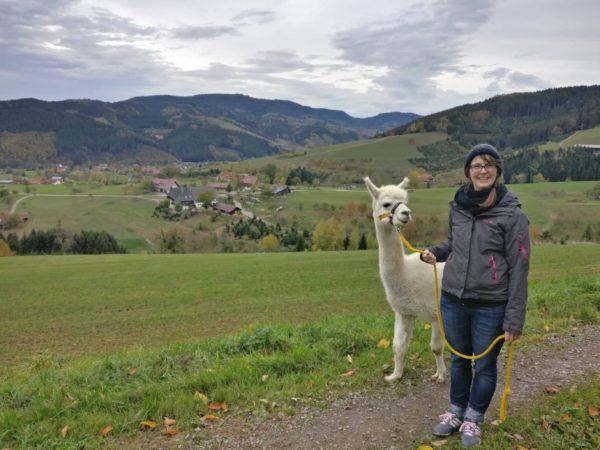 Alpaka-Trekking-Tour mit Lagerfeuer