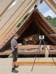 Rombach Holzbau investiert in neuen 3D-Laserscanner