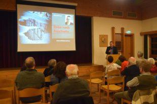 Michael Paul berichtete über seine Reise nach Auschwitz