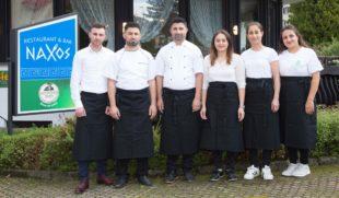 Restaurant »Naxos« mit griechischen Spezialitäten