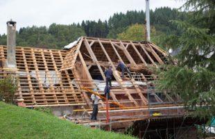 Neues Dach noch vor dem Winter