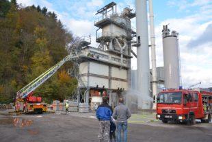 Brandunglück und Kohlestaubexplosion