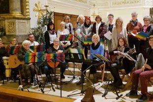 Musikgruppe Horizont feiert 10-Jähriges bei »Etwas anderem Gottesdienst«