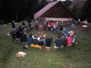 Erstes Lichterfest der Waldkinder