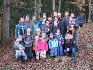 Gemeinderat unternahm eine Familienwanderung