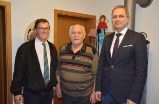Polizeioberkommissar Gerhard Nagel feierte seinen 85. Geburtstag