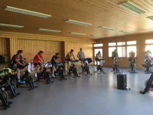 Indoor-Cycling macht einfach Spaß