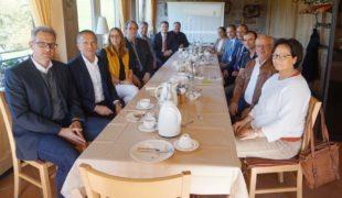 Gespräche von Tourismus und Wirtschaft im Mittleren Schwarzwald