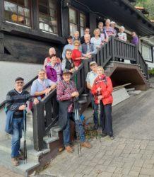 Senioren wanderten zum Käppelehof