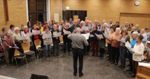 Zusammenklang der Nachbarn zum Jubiläum des Zeller Kirchenchores