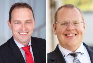 Carsten Erhardt und Richard Weith sind neue Regionalräte
