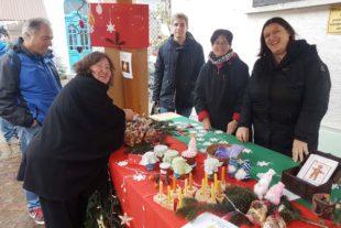 Erfolgreicher Verkaufsstand der Förderschule auf dem Nikolaus-Markt