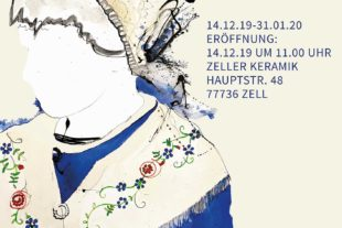 Zeller Keramik Manufaktur: Ausstellung »Goldhaube« von José Manuel Schloss