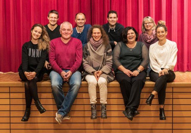Historischen Bürgerwehr Unterharmersbach: Jahresveranstaltung mit Neujahrstheater