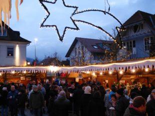 Großer Andrang auf dem 15. Biberacher Weihnachtsmarkt