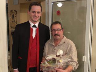 Herzliche Glückwünsche für Ehrenmitglied Werner Fix