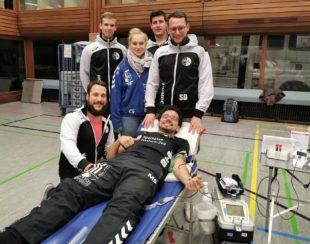 Handballer verschenken Blut und Punkte