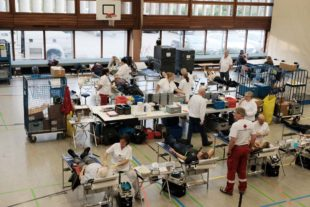 206 Blutkonserven in Zell gewonnen
