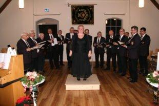 Männergesangverein Biberach bestritt Programm mit 14 Sängern