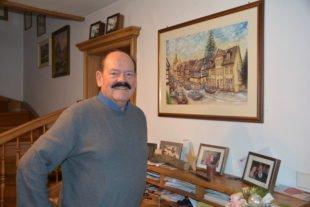 Beim Silvesterempfang wird Hans-Peter Wagner zum Ehrenbürger ernannt