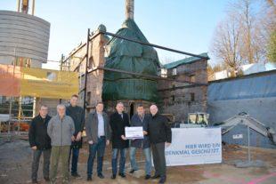 Denkmalstiftung fördert Rundofen-Sanierung