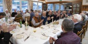 35 Betriebsrentner waren der Einladung zur Rentnerfeier gefolgt