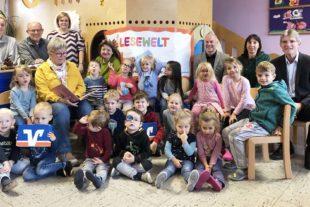 Kindergarten Unterentersbach freut sich über ein Jahr Vorlesevergnügen