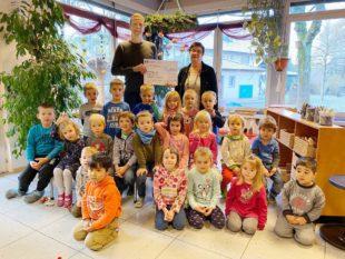 Aktion »Baustelle im Hombe« spendet 500 Euro an Kleine Wolke