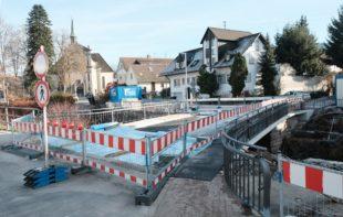Lindenbrücke ist wieder passierbar