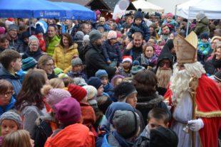 Nikolausmarkt war wieder Publikumsmagnet