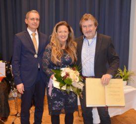 Gemeinderat Martin Teufel gehört nun zum Kreis der Ehrenringträger