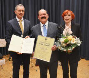 Ehrenbürgerwürde der Stadt Zell für Hans-Peter Wagner