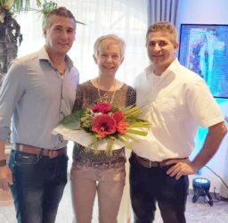 Fachverkäuferin Luitgard Matt feierte ihr 40-jähriges Arbeitsjubiläum