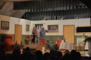 Unterentersbacher Dorfgemeinschaftshaus wurde am Samstag zur Theaterbühne