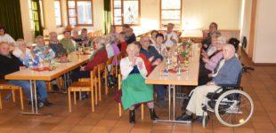 Stimmungsvoller Seniorennachmittag des DRK-Ortsvereins Nordrach