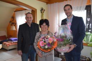 Sonja Lehmann feierte 80. Geburtstag
