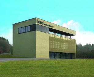 Neubau mit maximaler Flexibilität Hund Möbelwerke baut Ausstellungsgebäude in Sulzdorf