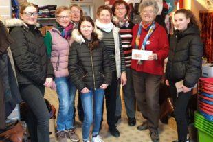 Spenden für die Zeller Kleiderkammer