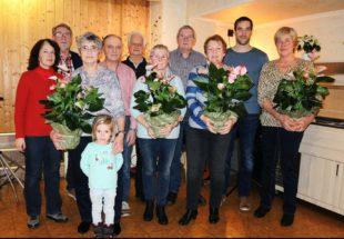 Wandergruppe Unterentersbach hielt Rückschau auf schönes Jahr