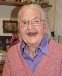 Frohgelaunt mit 96 Jahren