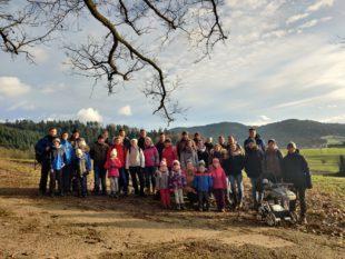 Traditionelle Dreikönigs-Wanderung des Musikvereins Unterharmersbach