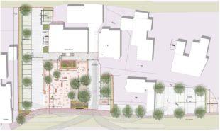 Details zur Gestaltung des Rathausvorplatzes