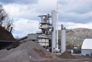 Knäble Straßenbau plant Neubau einer Asphaltmischanlage am Rebberg