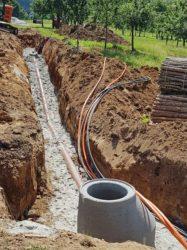 Ortenaukreis schließt 34 Haushalte an das Kanalnetz an