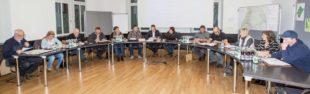 Erste Gemeinderatssitzung im neuen Bürgersaal