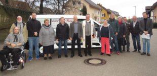 Neuer Ford Transit für das Seniorenzentrum St. Gallus